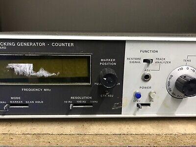 HP 8443 Tracking Generator . Counter Hewlett Packard ID-AWW-AWW-9-3-2 5