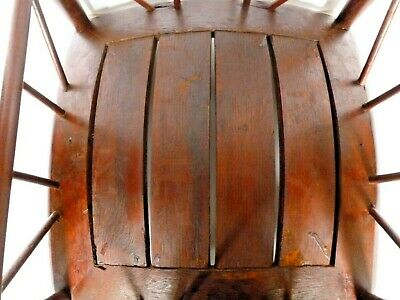 Antique Thebes Stool Wooden Egyptian Revival Arts and Crafts Period Circa 1900 10