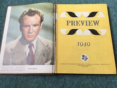 Vista previa de 1949 Libro / Publicación de la película mundial - Vintage Cinema Movies 2