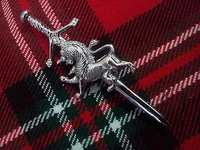 Tartan City /Écossais Lion Kilt de L/'/Ép/ée Broche