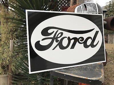 Antique Vintage Old Style FORD Sign