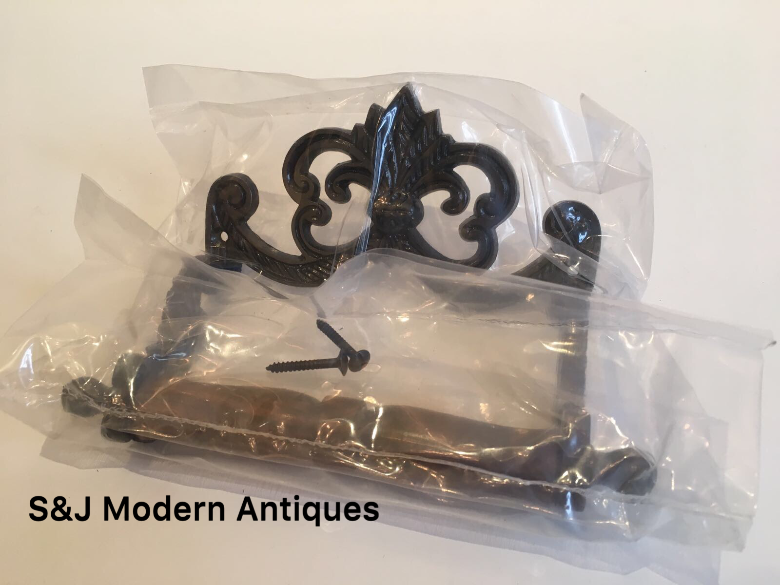 Iron Toilet Roll Holder Victorian Vintage Edwardian Black Grey Novelty Retro Old 4