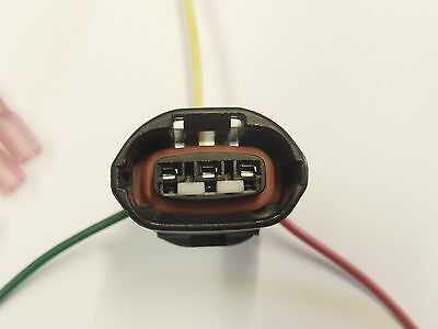 1995-2000 lexus ls400 alternator plug pigtail 3 wire repair harness  connector 2
