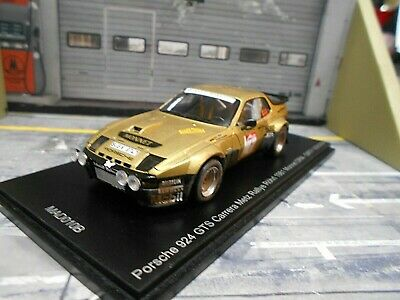 PORSCHE 924 Carrera GTS Rallye DRM Metz 1981 Röhrl Monnet NEU 1//200 Spark 1:43