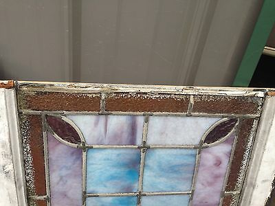 Nice Antique Stained Glass Window Sg 24 6