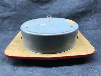 Antique Pendulum Kitchen Ffr Mechanical, Black and Red Vintage Formica 6