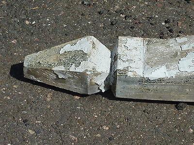 """LARGE single railroad station DEPOT CORBEL bracket brace 94 x 63 x 3.75"""" ~ AS IS"""