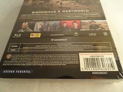 WESTWORLD Seasons 1 & 2 Bluray Complete Boxset FRENCH EDITION with English Audio 8