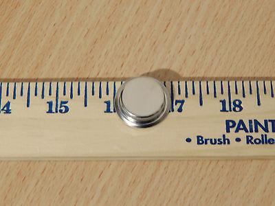 Hoosier Cabinet Finger Pull Nickel Plated for Tambour Door 3
