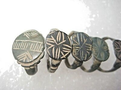 ANCIENT Bronze Rings Find Ancient ROMAN MEDIEVAL ARTIFACT 7