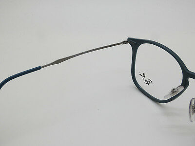 ba8a6f51e7 ... NEW Authentic Ray Ban RB 8954 8030 Graphene Matte Blue 50mm Rx  Eyeglasses 5