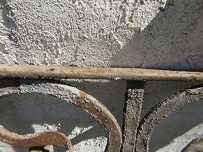 Antique Victorian Iron Gate Window Garden Fence Architectural Salvage Door #396 6