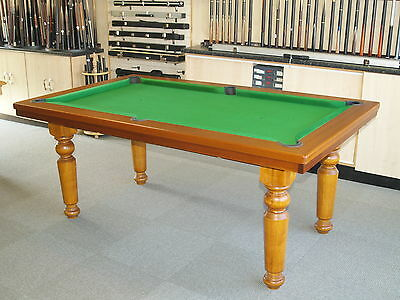 NEW ALLIANCE Kensington Snooker Pool Dining Table - Kensington pool table