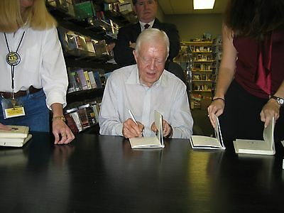 Jimmy Carter Signed Autographed Nobel Peace Prize Book 1/1 Rare!! Proof!!!! 2