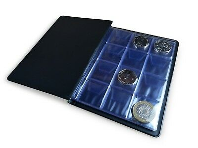 Coin Album SCHULZ 96 Collection Holder Folder Storage Book Case 50p £1 £2 [MIX] 4