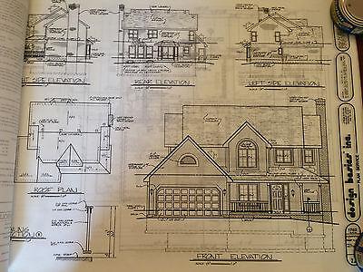 Home plans by Design Basics - 4 bedroom 3 bath 1846 sqft finished -  bond print 3