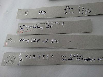 Altes R+R Kodiergerät Ringelhan Rennett Oberhausen Apotheker Geräte CodierGerät 8