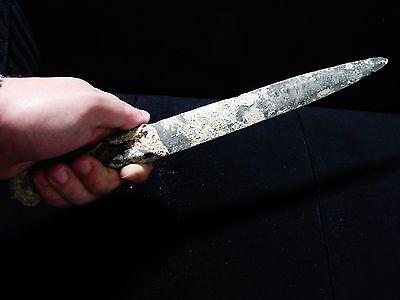 Zurqieh - Over 3000 Years Old Bronze Short Sword, Nice!
