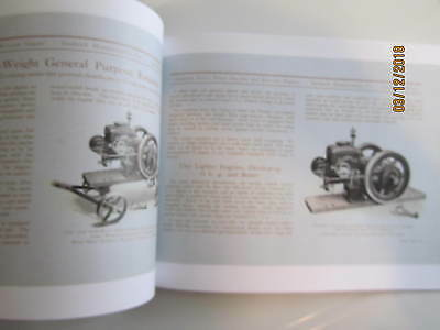 1924 Sandwich Manufacturing Co Sandwich Gas Engine  Catalog All sizes 5