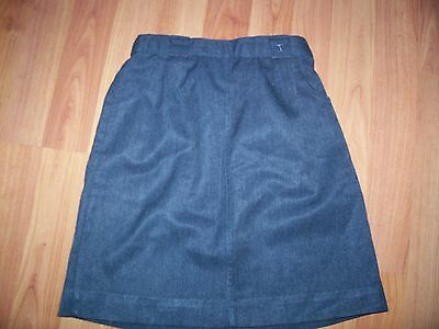 Grey a line school skirt from KIDS, height 122 cm, 2