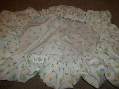 Tiddliwinks Frog Froggie Snail Turtle Fitted Crib Sheet (Fabric)
