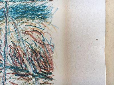 Ernst Syberg 1906-1981 Windiger Tag An Der Küste - Lithografie 1970 11