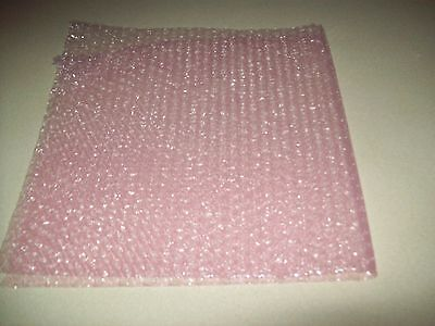 """50 Foot PINK Anti-Static Bubble Wrap® Roll! 3/16"""" Small Bubbles! Perforated! 2"""