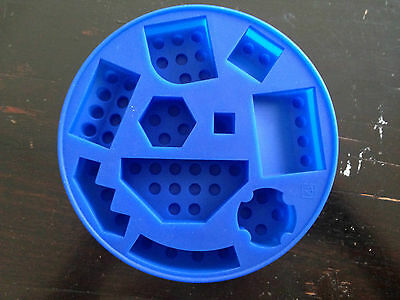 Multi Shape Lego Brick Silicone Jelly Cake Soap Crayon Ice Mold Mould Party FUN