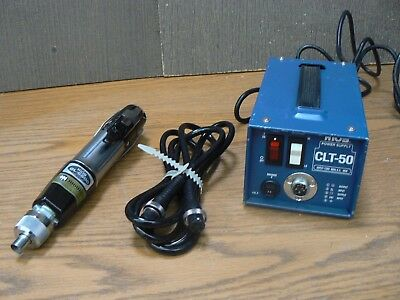 Hios Mountz Cl-6500 Torque Limiting Power Screw Driver & Clt-50 Power Supply 6