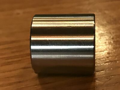 """(2 pc) Extsw 1/2"""" ID x 3/4"""" OD x 3/4"""" long 304 Stainless Steel Spacers 3"""