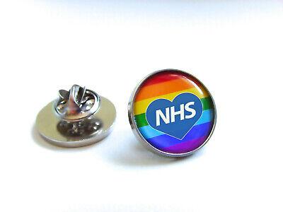 Nhs Uk Nurse Doctor Ambulance Medic Porter Paramedic Green Line Lapel Pin Badge 9