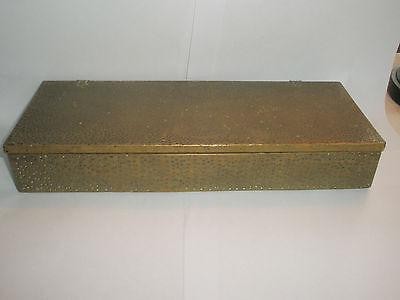 Vintage 1910 Apollo Studios NY Hammered Copper Arts & Crafts Wood Lined Desk Box 4