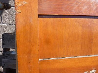 "early 20th century schoolhouse SLATE chalkboard salvaged DOOR & FRAME 65 x 30.5"" 9"