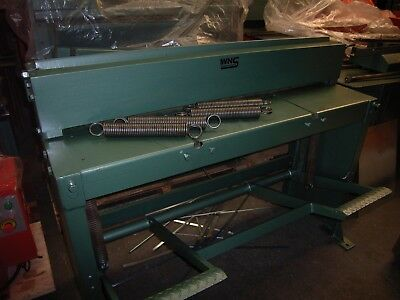 WNS SHEET METAL Treadle Guillotine Replacement Springs / Edwards Foot Shear