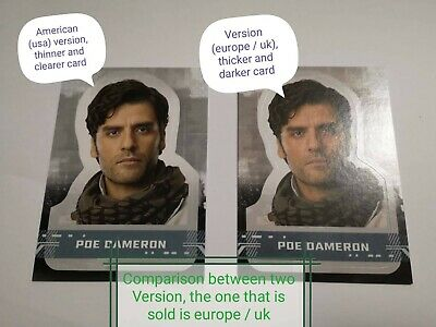 Topps Star Wars The Rise Of Skywalker Character Sticker Cards Europe/Uk Version 2
