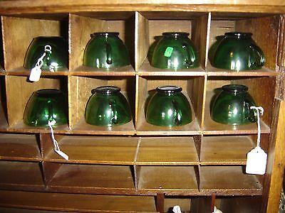 Large Antique Oak Cubbyholes                      8144 3