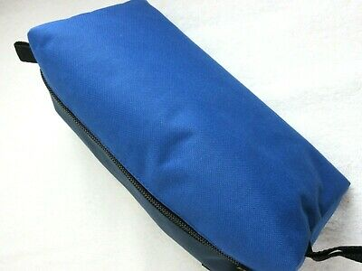 Levi Strauss Zip Up Travel Kit Toiletry Bag Dopp Kit Blue Red Free Ship NWT NR 4