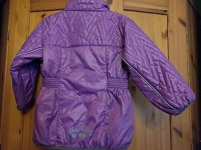 Racoon Lightweight Girls Padded Jacket Grape 3 Years 98cm  BNWT!! 2