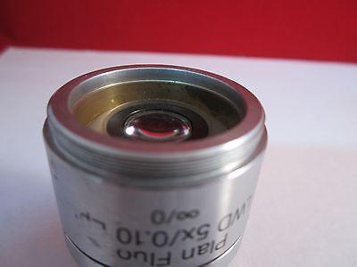 Microscope Objective Reichert Fluor 5X Polycon Epi Infinity Optiques Bin #11 DT 2