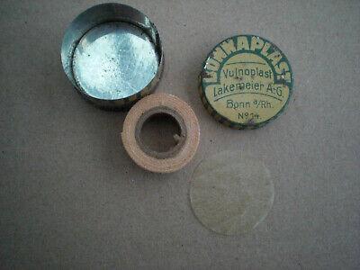 Antike Blechdose Bonnaplast Vulnoplast Bonn a. Rhein -Original Befüllung - 3
