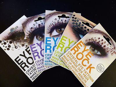 Eye Rock Crystal Jewel Rhinestone Glitter Face Eye Brow Shadow Sticker Face Gems