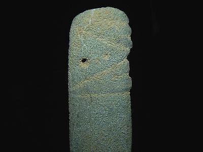 Pre-Columbian Jade Avian Pendant, Central America, Authentic 6