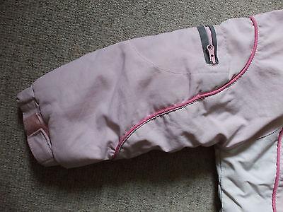 schöne warme gefütterte Jacke mit abnehmbarer Kapuze Größe 98 von Topolino 5