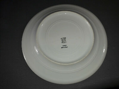Lot 11 antique plates ceramic of Mehun old French sandstone flat 3