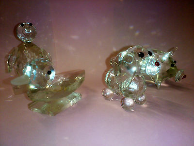 Set of 5 Crystal Glass Animals 4
