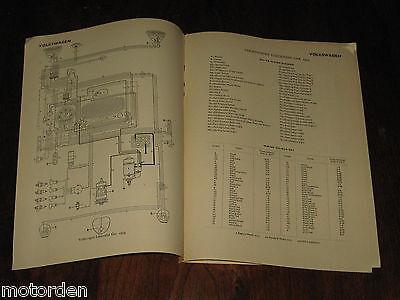 Vw Volkswagen Car Commercial 1952 55 Data Wiring Diagrams 5pp Pub 1956 Free Post 11 99 Picclick