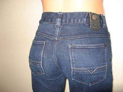 Worn Once Boys Hugo Boss Slim Fit Stretch Straight Leg Dk Blue Jeans Age 12-14 3
