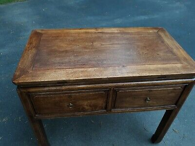 Outstanding Large Antique Chinese Hardwood Desk Table or Console 2