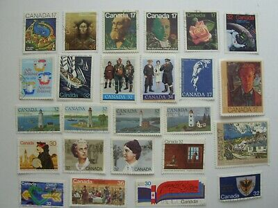 165 Different Used Canada Stamps Fine To Very Fine No Damage 4