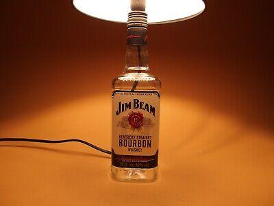 Jim Beam - Flaschen Lampe Tischlampe LED 220V mit Schalter SEHR ORIGINELL S1 3
